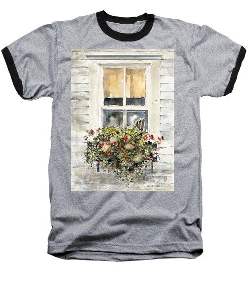 Flower Box Baseball T-Shirt