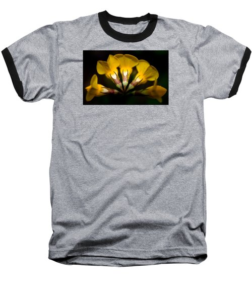 Flower Candelabra Baseball T-Shirt by Adria Trail