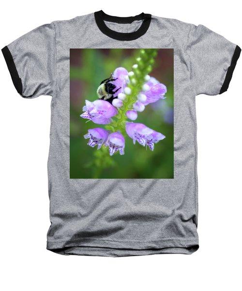 Baseball T-Shirt featuring the photograph Flower Climbing by Eduard Moldoveanu