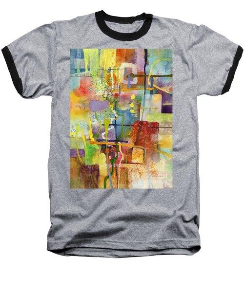 Flower Dance Baseball T-Shirt by Hailey E Herrera