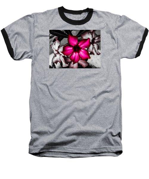 Flower Dreams Baseball T-Shirt by Randy Sylvia