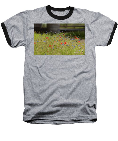 Flower Duet Baseball T-Shirt