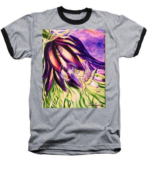 Flower Faerie Baseball T-Shirt