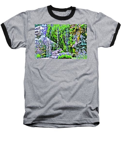 Flower Falls Baseball T-Shirt