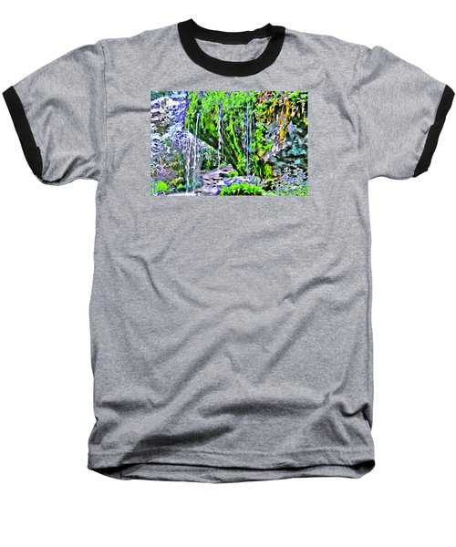 Flower Falls Baseball T-Shirt