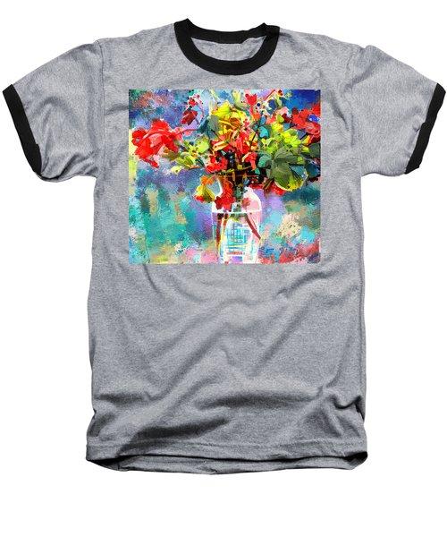 Flower Festival Baseball T-Shirt