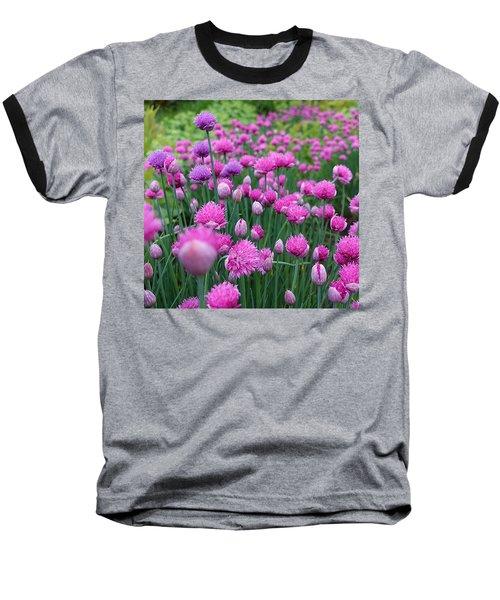 Whistler, British Columbia Baseball T-Shirt by Heather Vopni