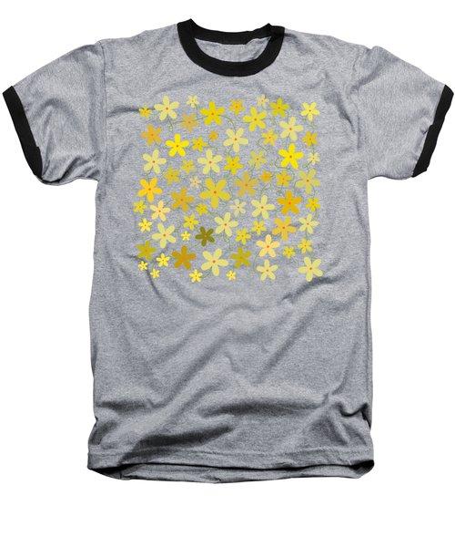 Flower Folly Baseball T-Shirt