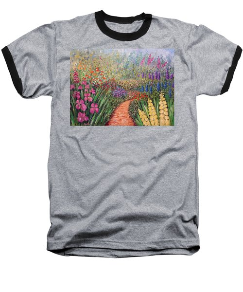 Flower Gar02den  Baseball T-Shirt