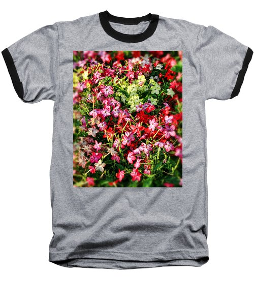 Flower Garden 1 Baseball T-Shirt