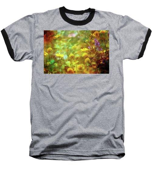 Flower Garden 1310 Idp_2 Baseball T-Shirt