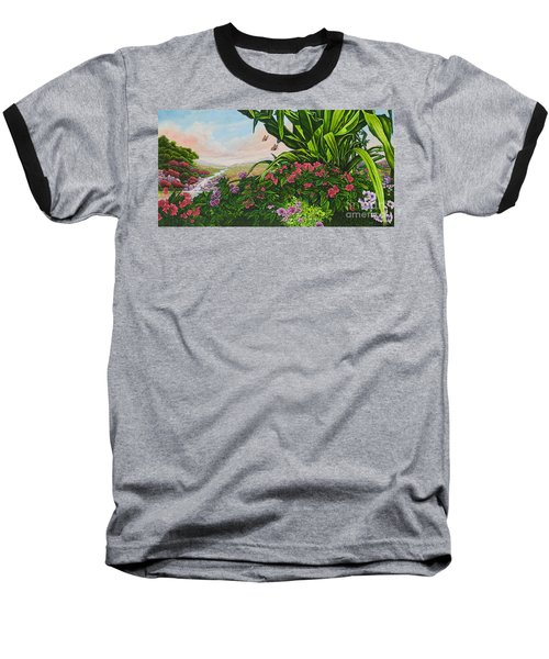 Flower Garden Vii Baseball T-Shirt