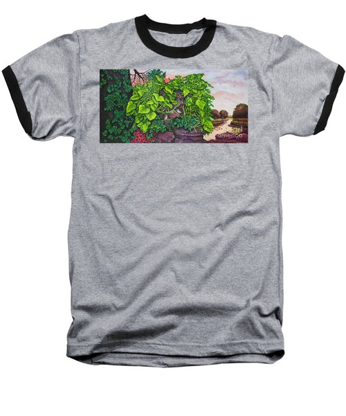 Flower Garden Viii Baseball T-Shirt by Michael Frank