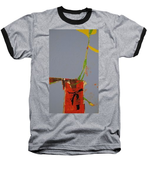 Flower In Pitcher- Abstract Of Course Baseball T-Shirt