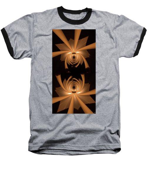 Flower Light Baseball T-Shirt