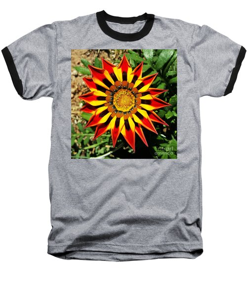 Flower -  Made In Nature Baseball T-Shirt by Jasna Gopic
