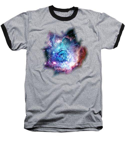 Flower Nebula Baseball T-Shirt