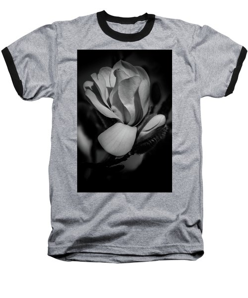 Flower Noir Baseball T-Shirt