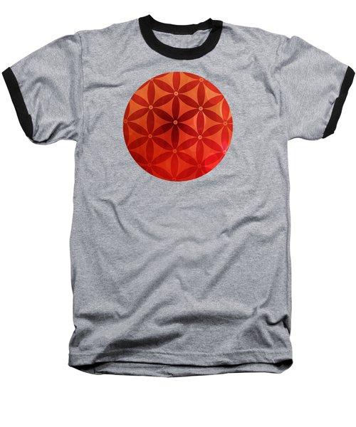 Flower Of Life  Baseball T-Shirt by Serena King