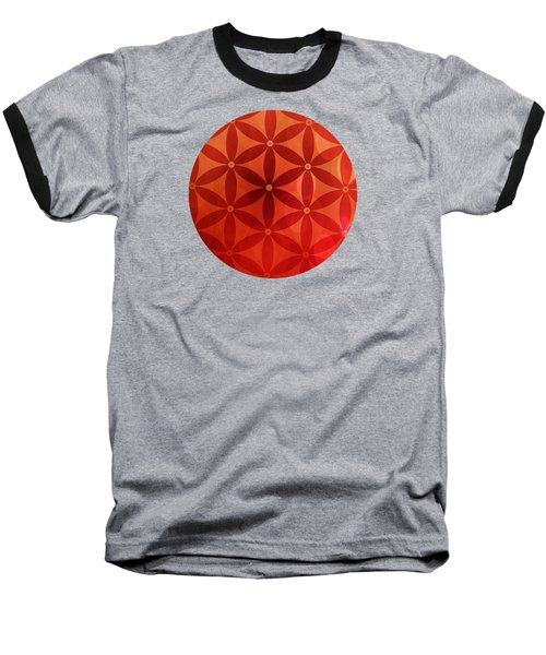 Flower Of Life  Baseball T-Shirt