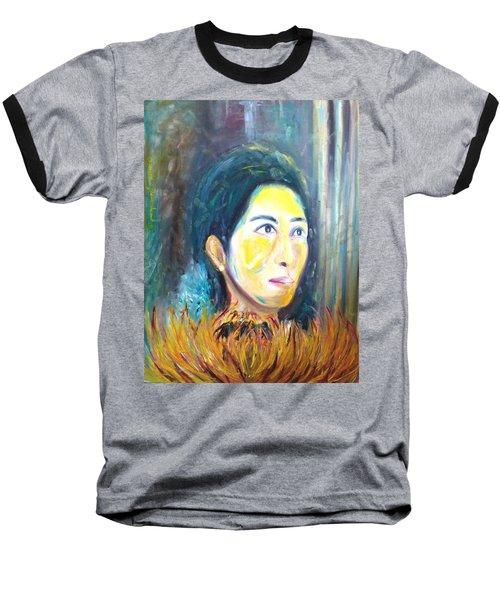 Flower Of Sun Baseball T-Shirt
