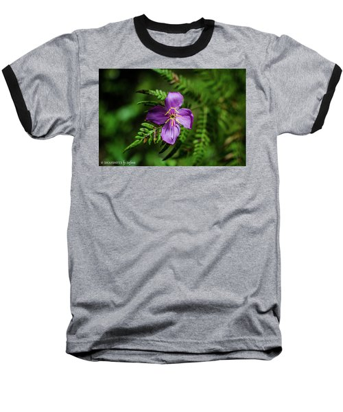 Flower On The Fern Baseball T-Shirt
