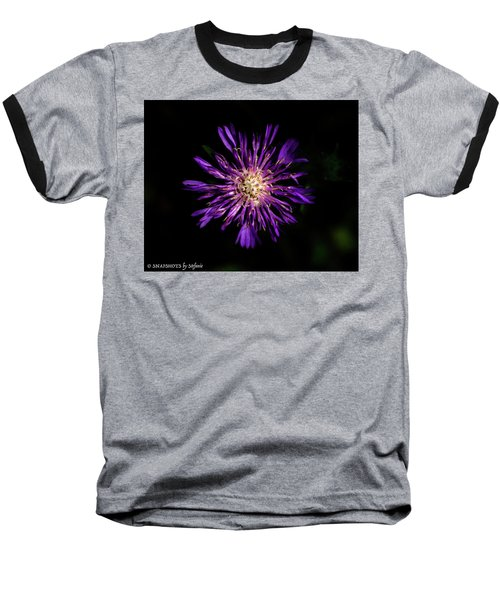 Flower Or Firework Baseball T-Shirt