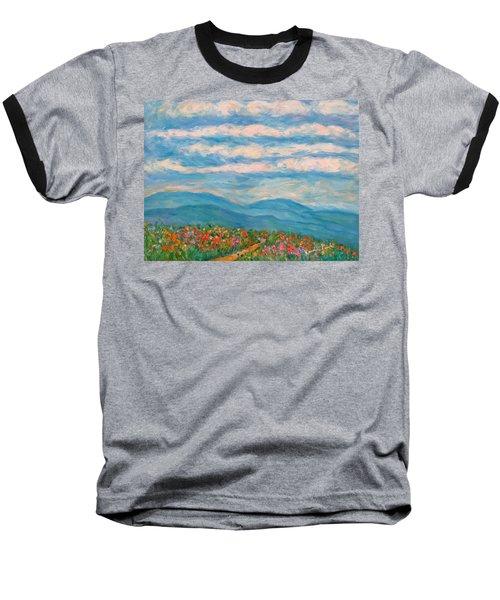 Flower Path To The Blue Ridge Baseball T-Shirt