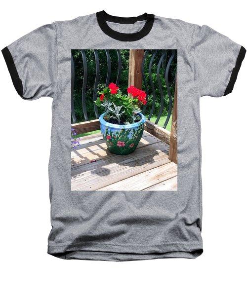 Flower Pot Baseball T-Shirt