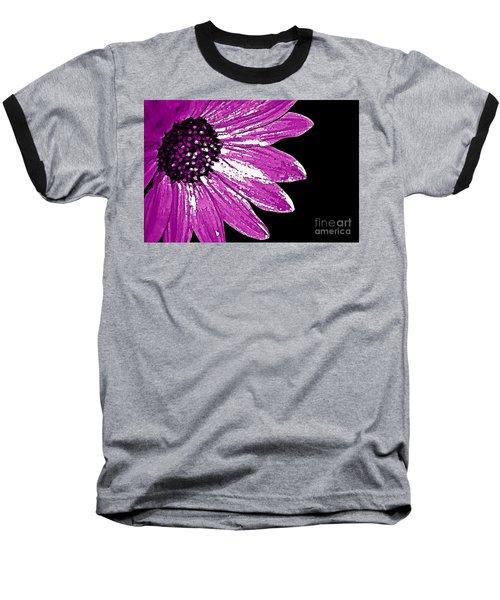 Baseball T-Shirt featuring the photograph Flower Power  by Juls Adams