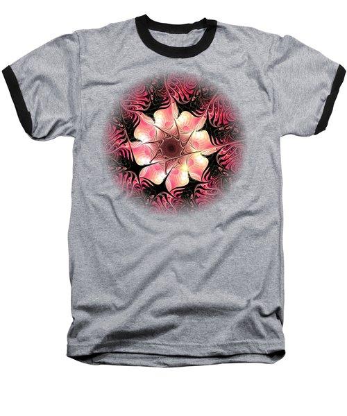 Flower Scent Baseball T-Shirt by Anastasiya Malakhova