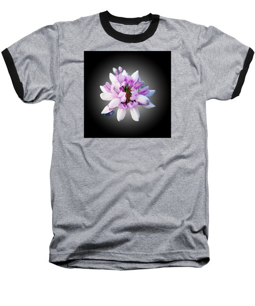 Baseball T-Shirt featuring the photograph Flower  Securigera Varia by Mike Breau
