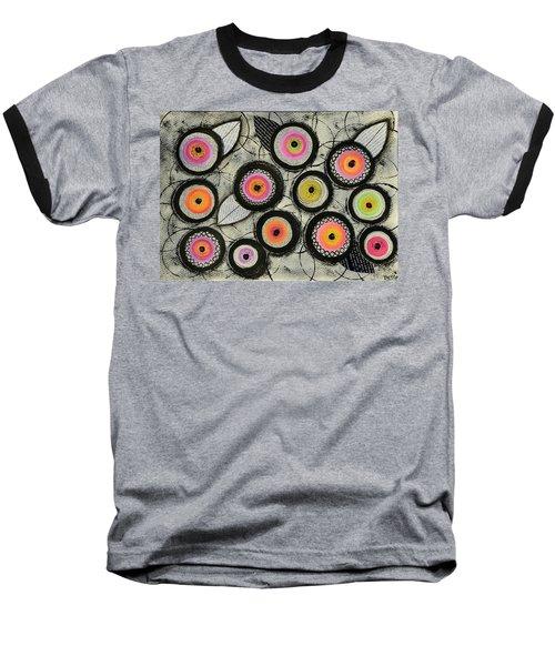 Flower Series 2 Baseball T-Shirt