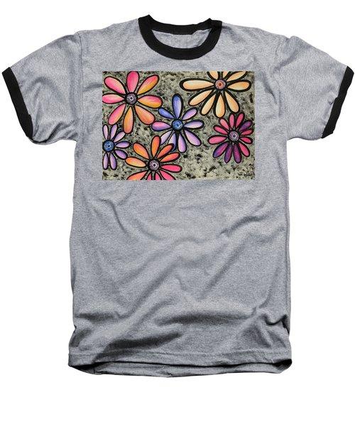 Flower Series 4 Baseball T-Shirt