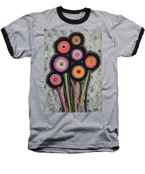 Flower Series 6 Baseball T-Shirt