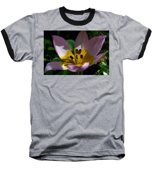 Flower Shadows Baseball T-Shirt