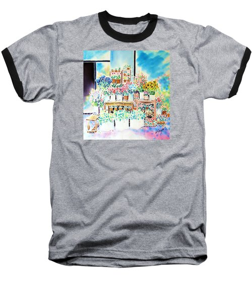 Flower Shop In Paris Baseball T-Shirt