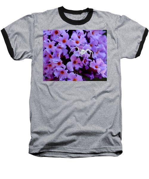 Flower Spider Baseball T-Shirt