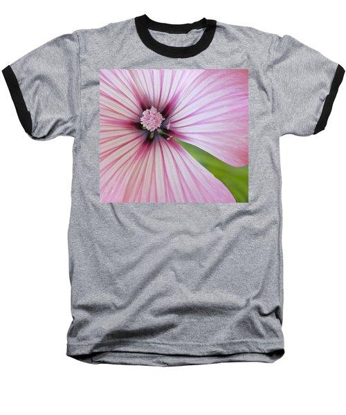 Baseball T-Shirt featuring the photograph Flower Star by Elvira Butler