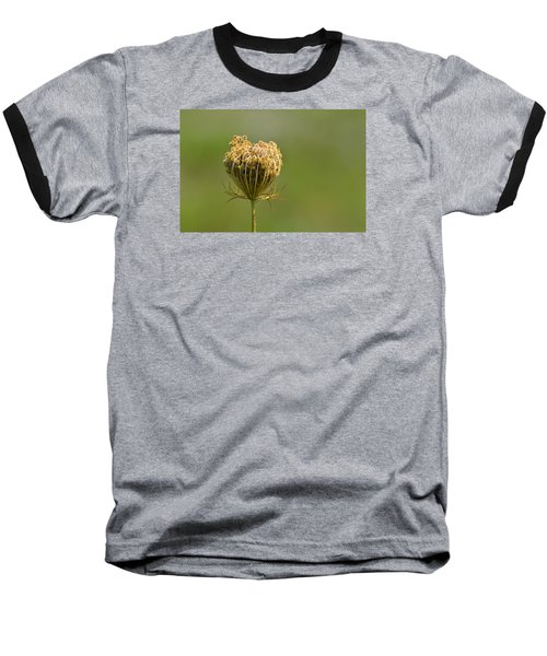 Baseball T-Shirt featuring the photograph Flower Turning Into A Seed Pod Dispenser 2  by Lyle Crump