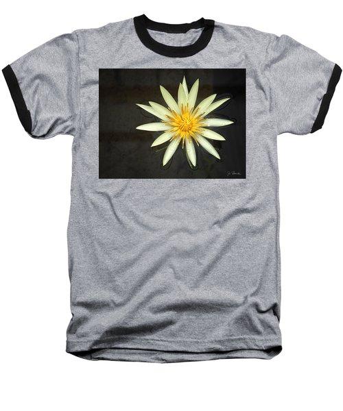 Flowerburst Baseball T-Shirt by Joe Bonita