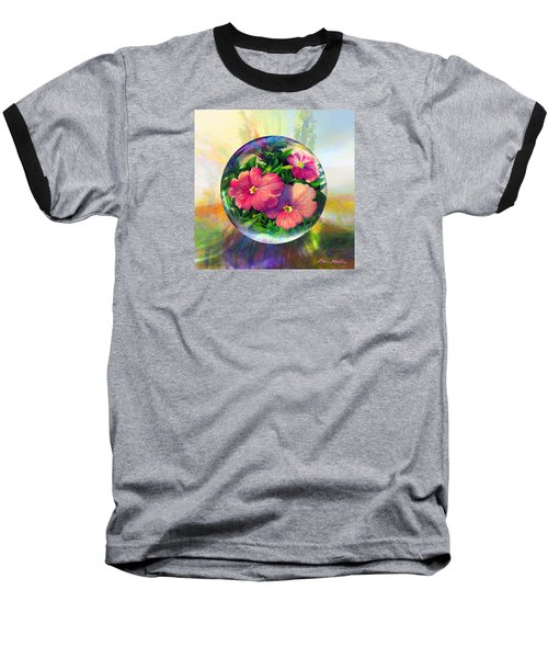 Flowering Panopticon Baseball T-Shirt by Robin Moline