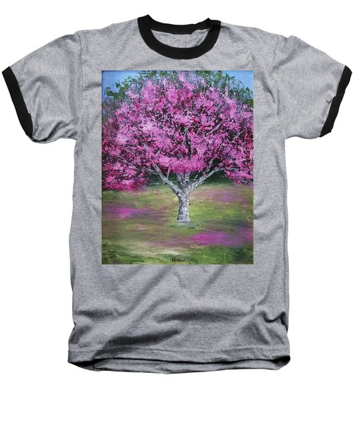 Flowering Tree Baseball T-Shirt