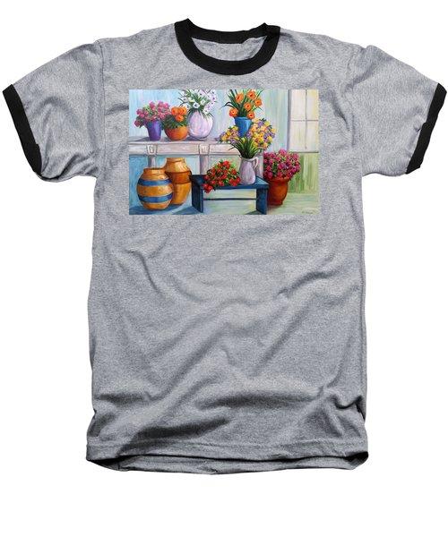 Flowerpots Baseball T-Shirt