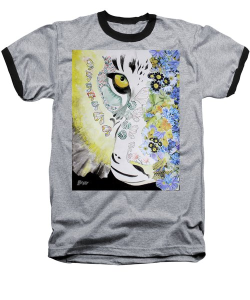 Flowerpower Baseball T-Shirt