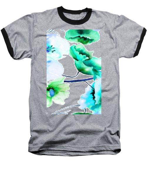 Flowers 05 Baseball T-Shirt