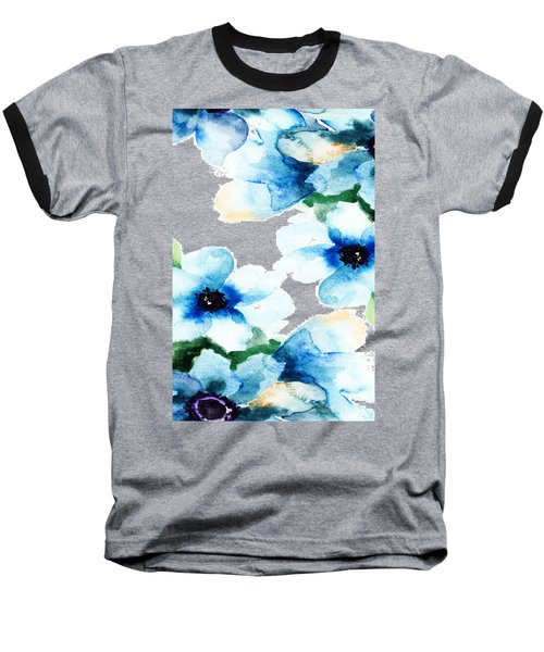 Flowers 06 Baseball T-Shirt