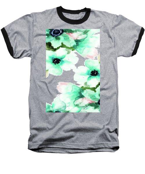 Flowers 07 Baseball T-Shirt