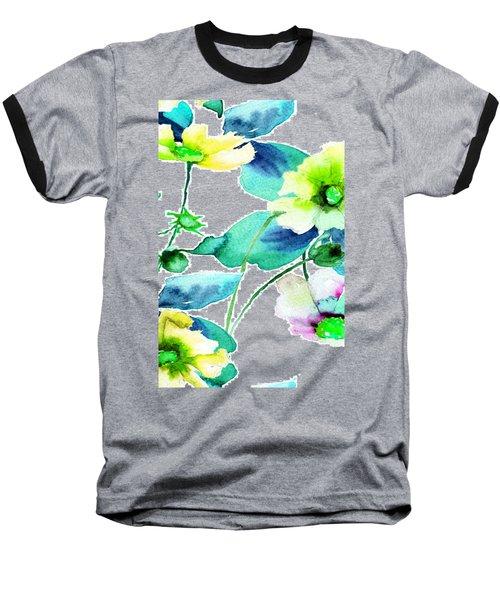 Flowers 08 Baseball T-Shirt