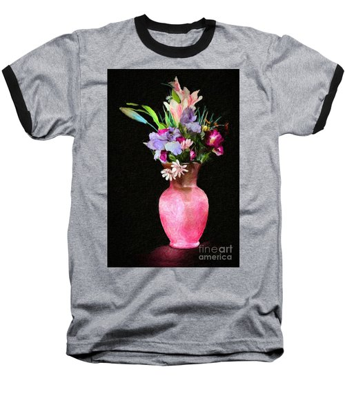 Flowers 4 Baseball T-Shirt